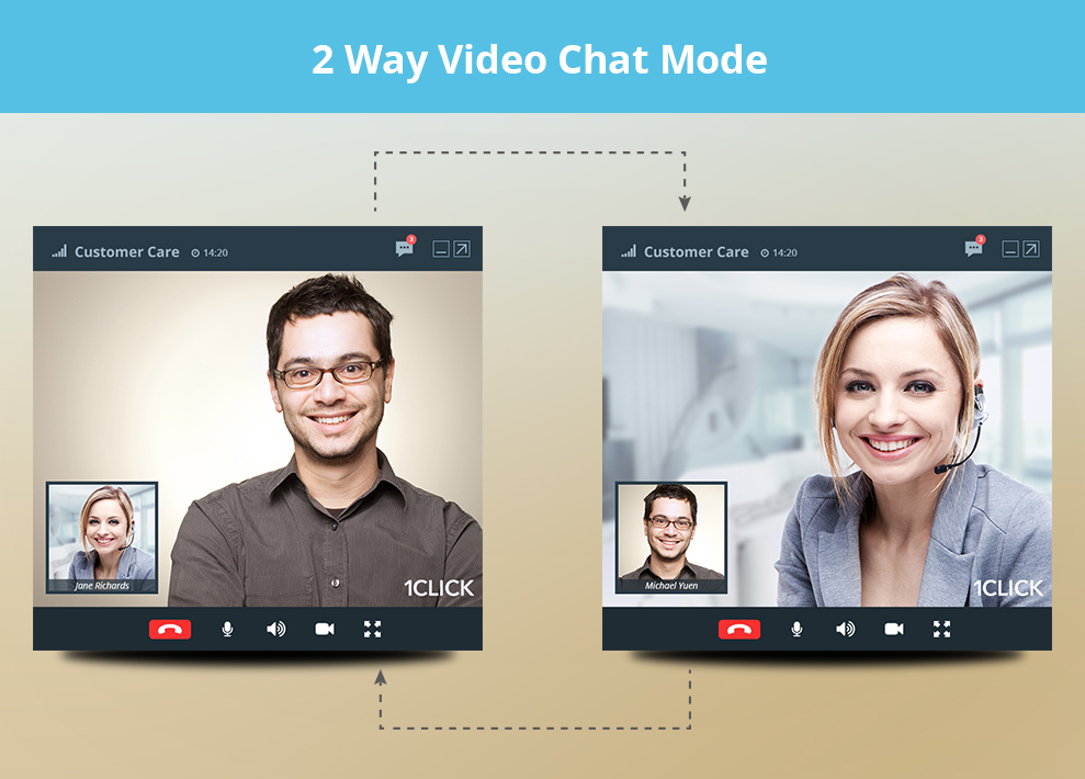 customer service video chat